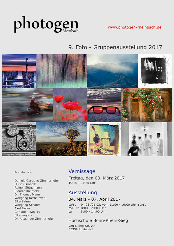 Vernissage 03.03.2017 19:30 Uhr